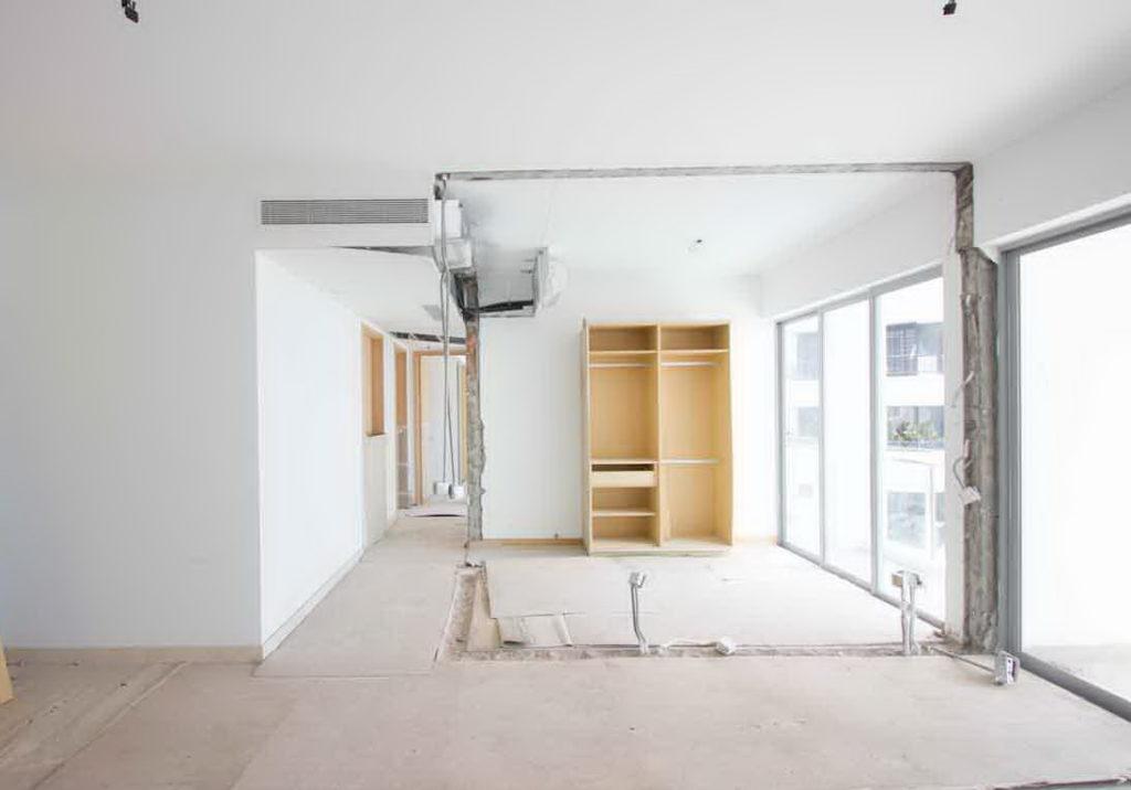 Rušenje zida u stanu