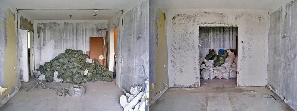 Rusenje zida u stanu cena